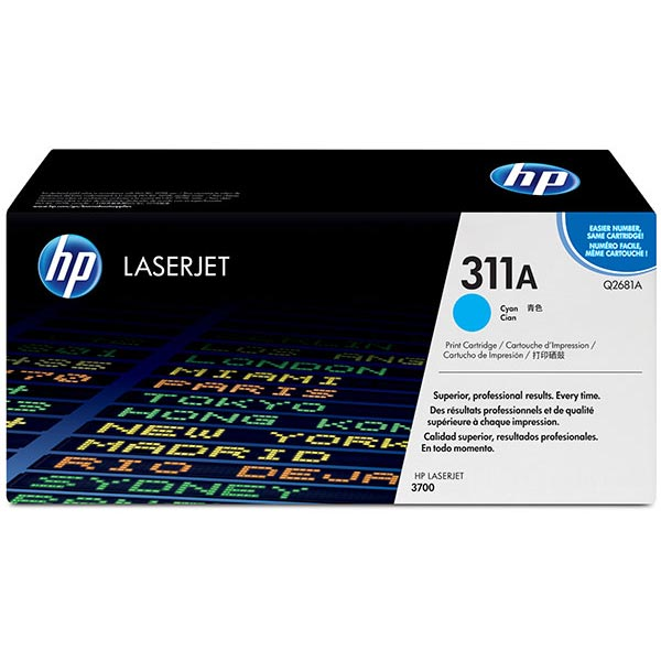 HP 311A Cyan Toner Cartridge Q2681A