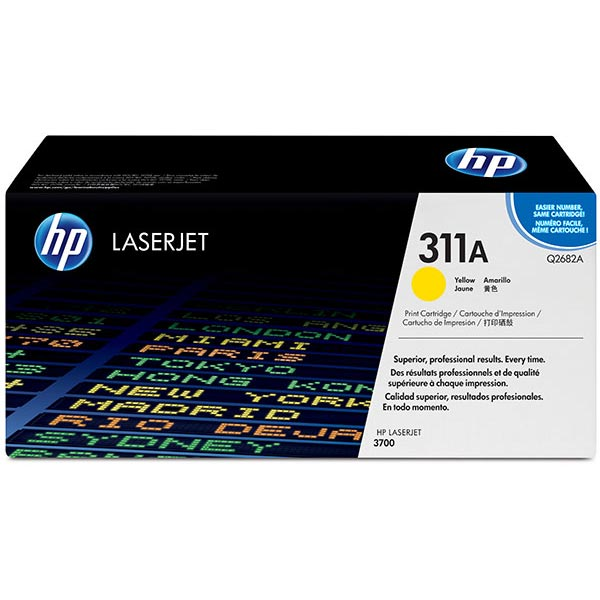 HP 311A Yellow Toner Cartridge Q2682A