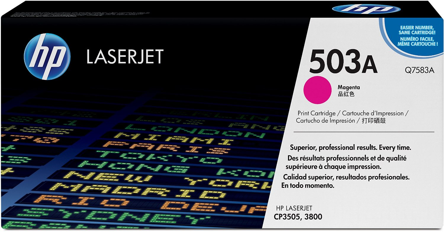 HP 503A Magenta Toner Cartridge Q7583A